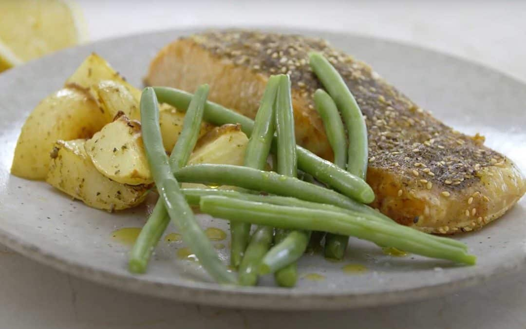 Delicious Za'Atar Salmon Fillets